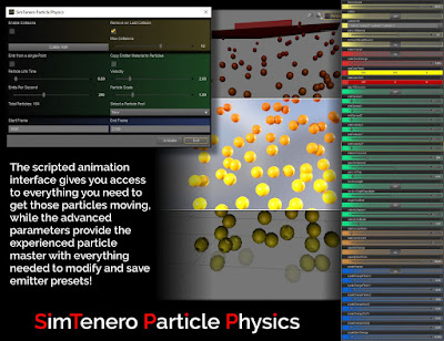 SimTenero Particle Physics - Core Engine