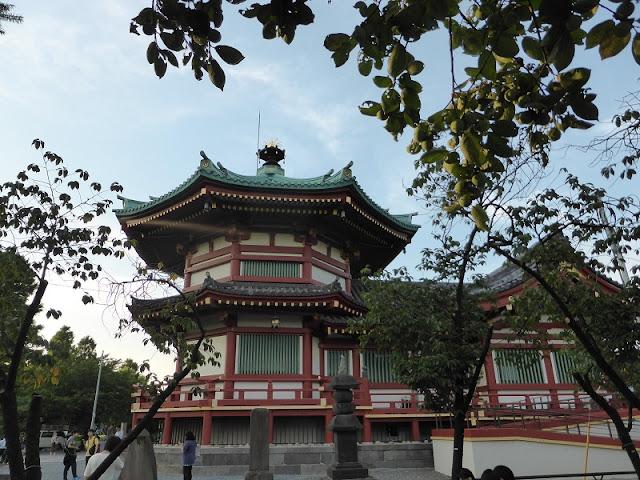 Parque Ueno, pagodas