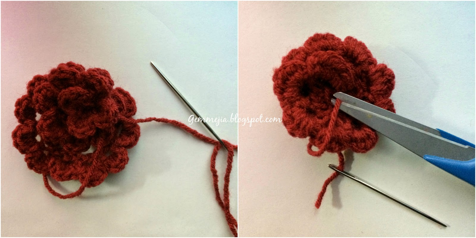 crochet roses, flowers, valentine's day