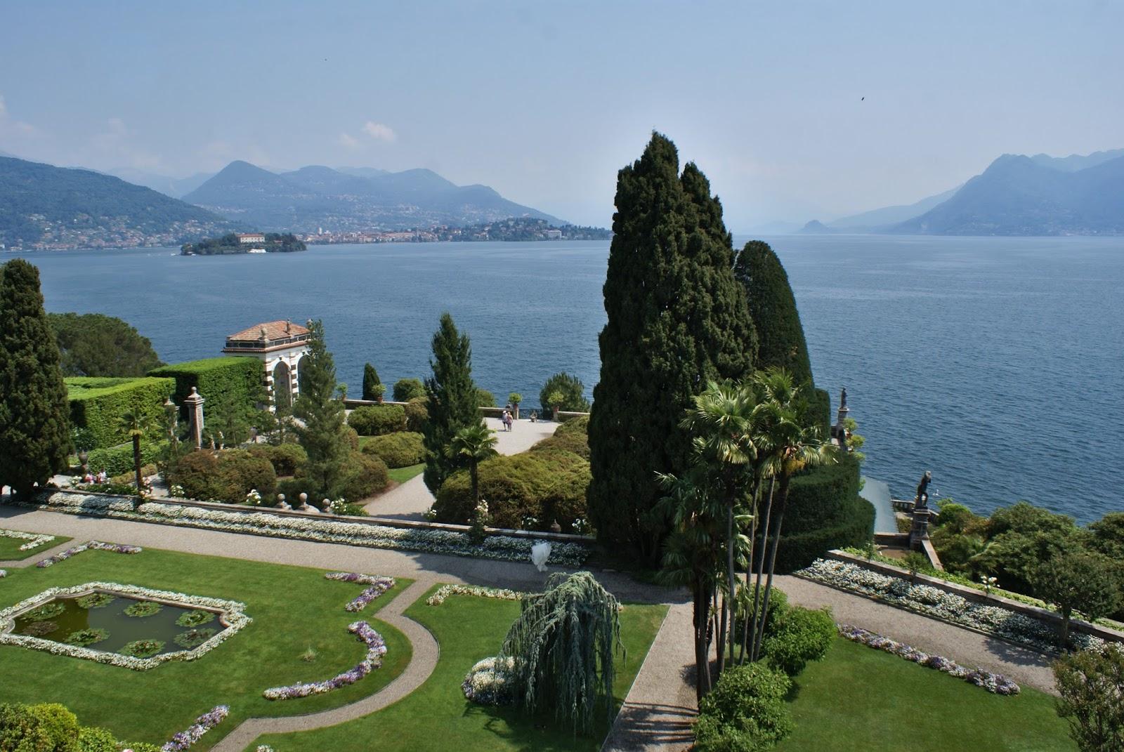 garden giardino isole borromee borromées isola bella lago maggiore piemonte italy