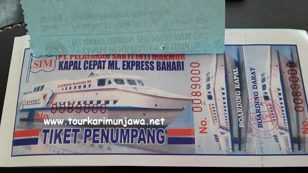 harga tiket kapal feri siginjai dan express karimunjawa