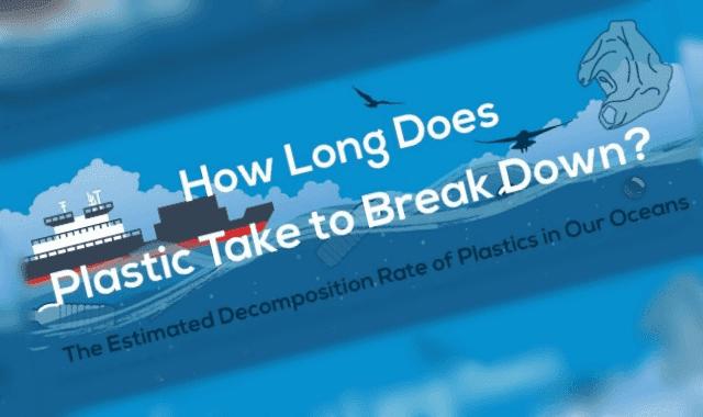 How Long Does it Take Plastics to Break Down?