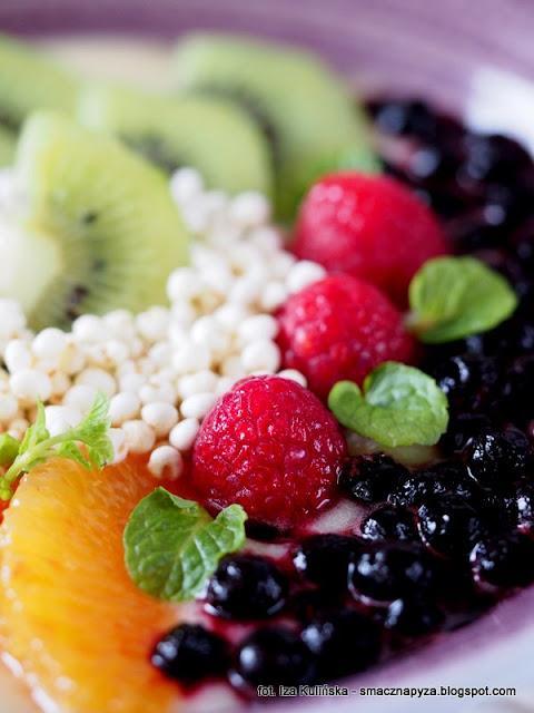 smoothie bowl jablkowa, miseczka owocowa, smoothie owocowy, owoce, sniadanie owocowe, sniadanie mistrzow, witaminy, samo zdrowie, sniadanie fit, zdrowe odzywianie