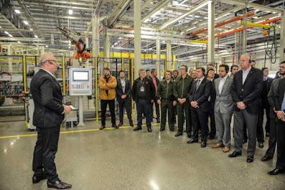 Scania inaugura fábrica para solda a laser em São Bernardo