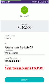 Cara Deposit Poker Online Via OVO 7, Deposit Poker online, deposit via ovo , capripoker99