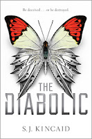 The Diabolic by S. J. Kincaid book cover and review