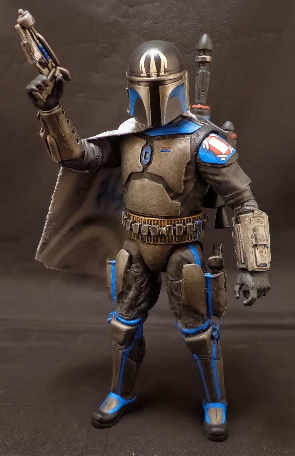 Stronox Custom Figures  Star Wars Black 6 U0026quot   Pre Vizsla