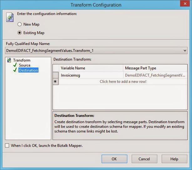 Transform Shape select destination