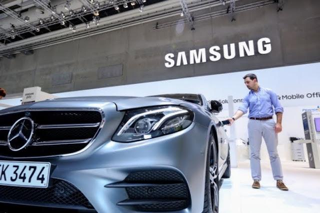 Samsung Kembangkan Kunci Mobil Digital
