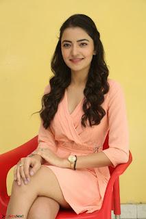 Rukshar Mir in a Peachy Deep Neck Short Dress 064.JPG