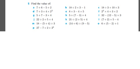 All Worksheets bodmas worksheets and answers : Grade 6-AKA,Hyderabad-2013-2014: HOME WORK