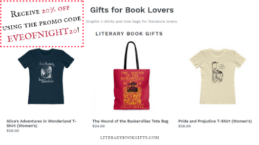 Literary Book Gifts -- A Special Gift For EoN Readers [Promo Code: 20% Off Anything In Store]