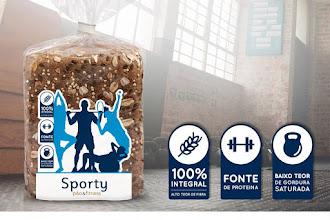 Pão Sporty...O teu pão fitness!