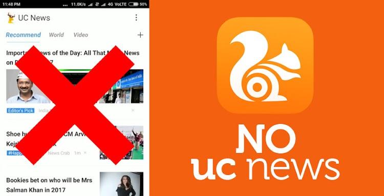 Cara Menghilangkan Pemberitahuan Berita Di UC Browser Secara Total