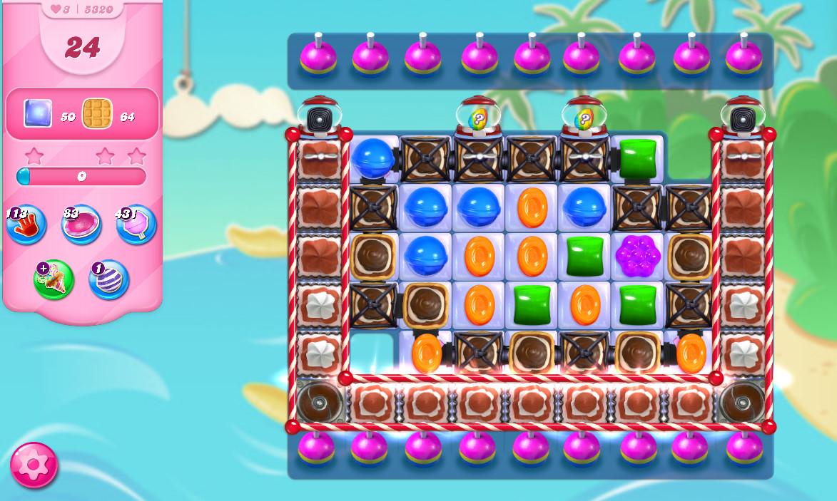 Candy Crush Saga level 5320