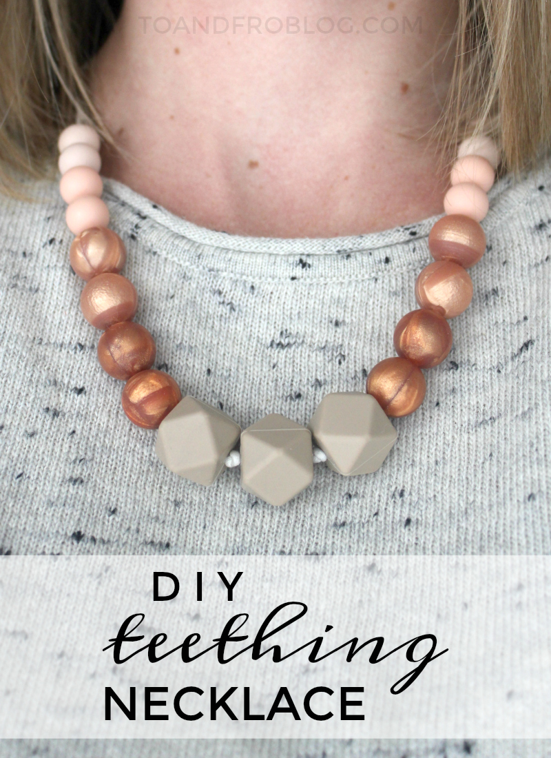 DIY Teething Necklace