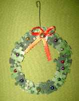 Puzzle Wreath Ornaments
