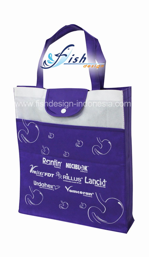 Tas Spunbond Promosi Brand Obat