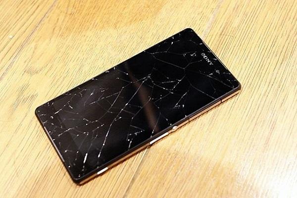 Màn hình Sony Z5 bị vỡ