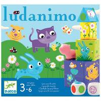 Jeu pour tout-petits djeco Ludanimo