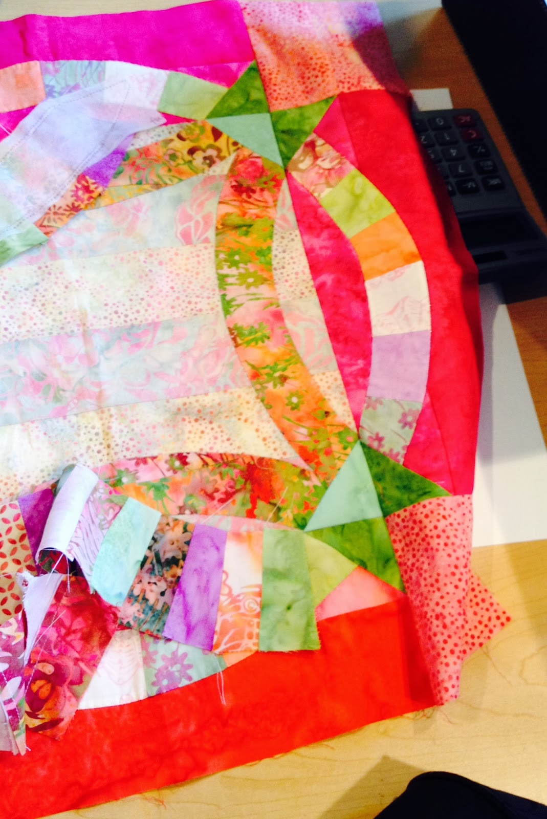 Quiltsmart: Jelly Rolls and the Quiltsmart Double Wedding Ring