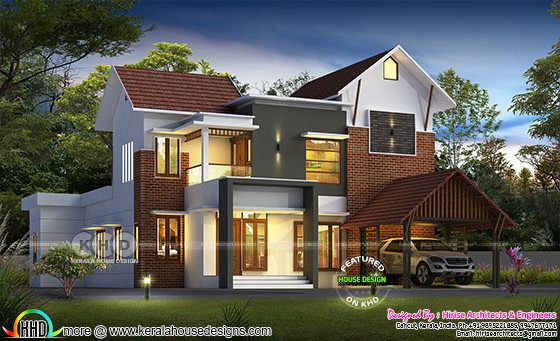 2300 square feet awesome Kerala house design