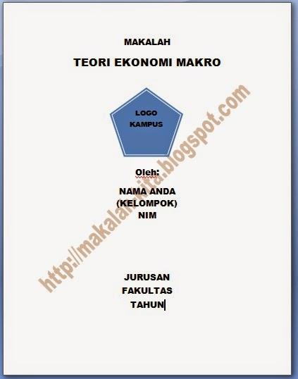 Makalah Teori Ekonomi Makro Makalah Kita