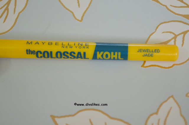 Maybelline Colossal Kohl Jewelled Jade Shade