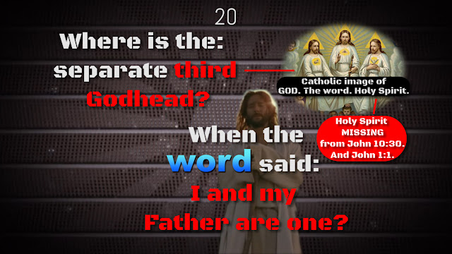 John 1:1. The definite article PROVES GOD THE FATHER IS GOD ALONE.