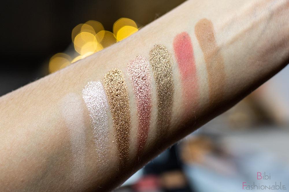 Anastasia Beverly Hills Sultry Eyeshadow Palette Swatches oben
