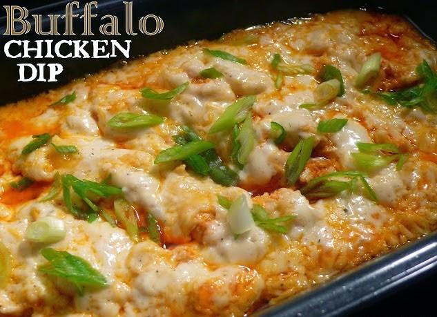 Best Recipes In World Buffalo Chicken Dip
