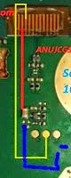 nokia 105 lampu hidup tanpa transistor