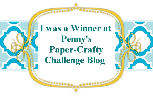 Penny's Paper-Crafty Challenge 382 (painting)