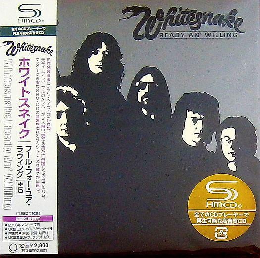 WHITESNAKE - Ready An' Willing [Japan SHM-CD remastered MiniLP +5] full