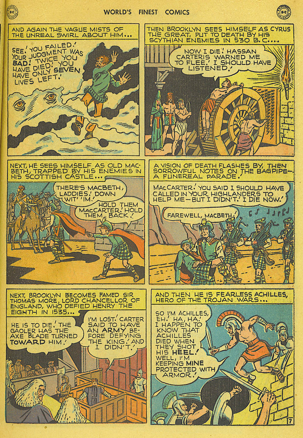 Read online World's Finest Comics comic -  Issue #34 - 33