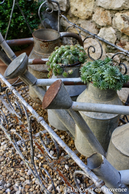 Jardin Decore Avec Zinc