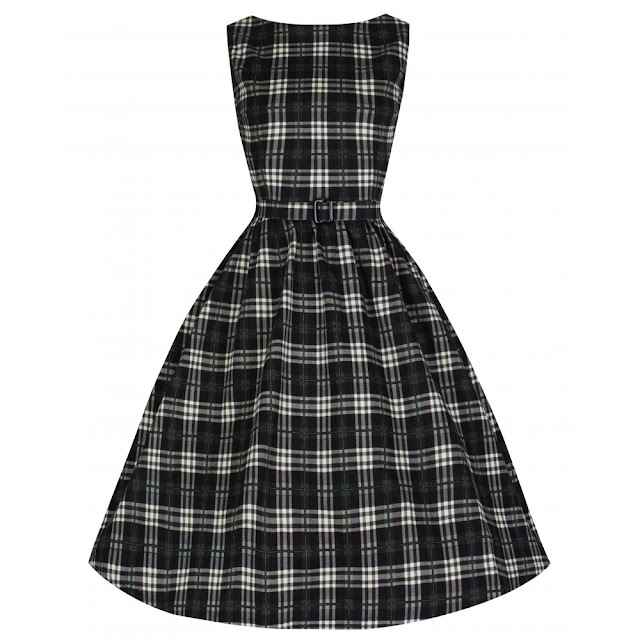 audrey-chic-50s-inspired-green-check-swing-jive-dress