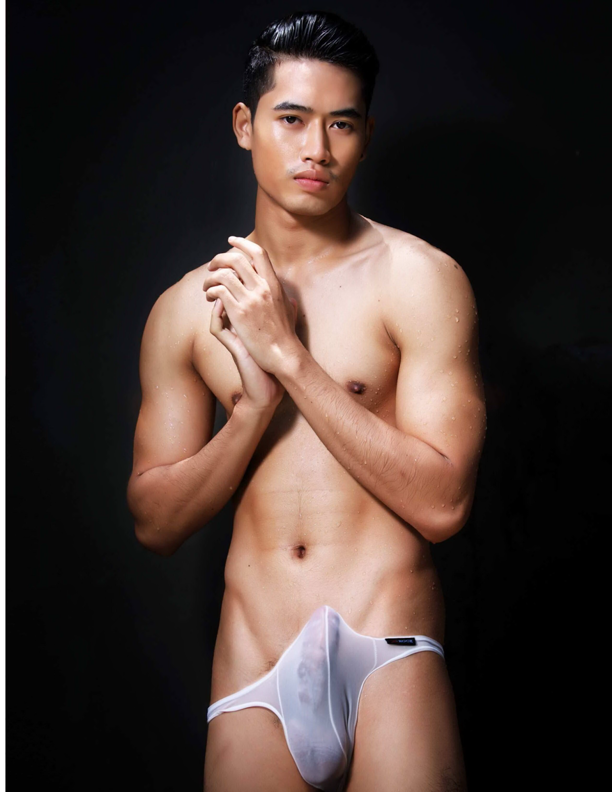 Indonesian man naked model 14