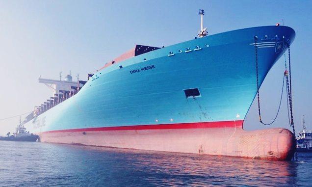 Kapal Emma Maersk
