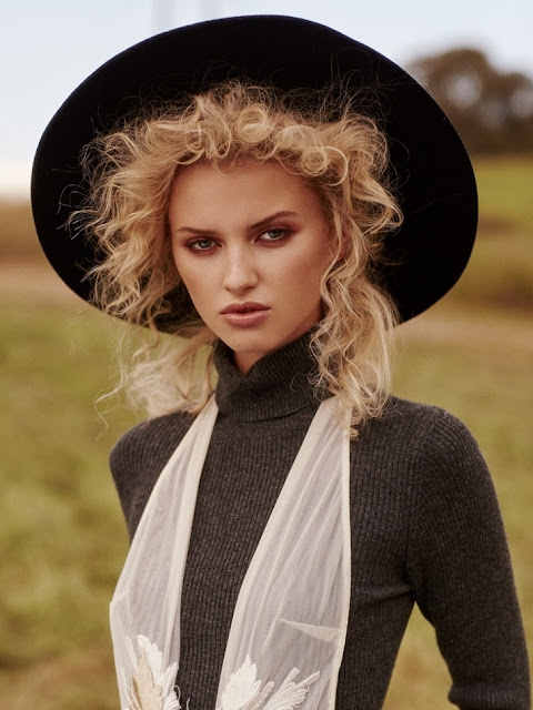 sombreros look peinados 2017