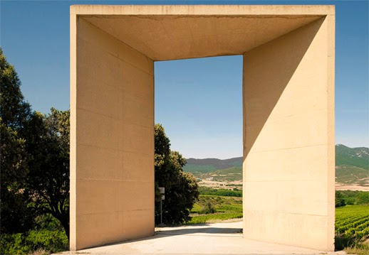 Pórtico de entrada_Señorío de Arínzano_Rafael Moneo_Arquitectura_Chivite