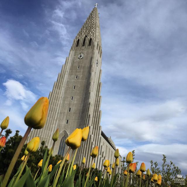 iglesia Hallgrímskirkja de Reikiavik Islandia