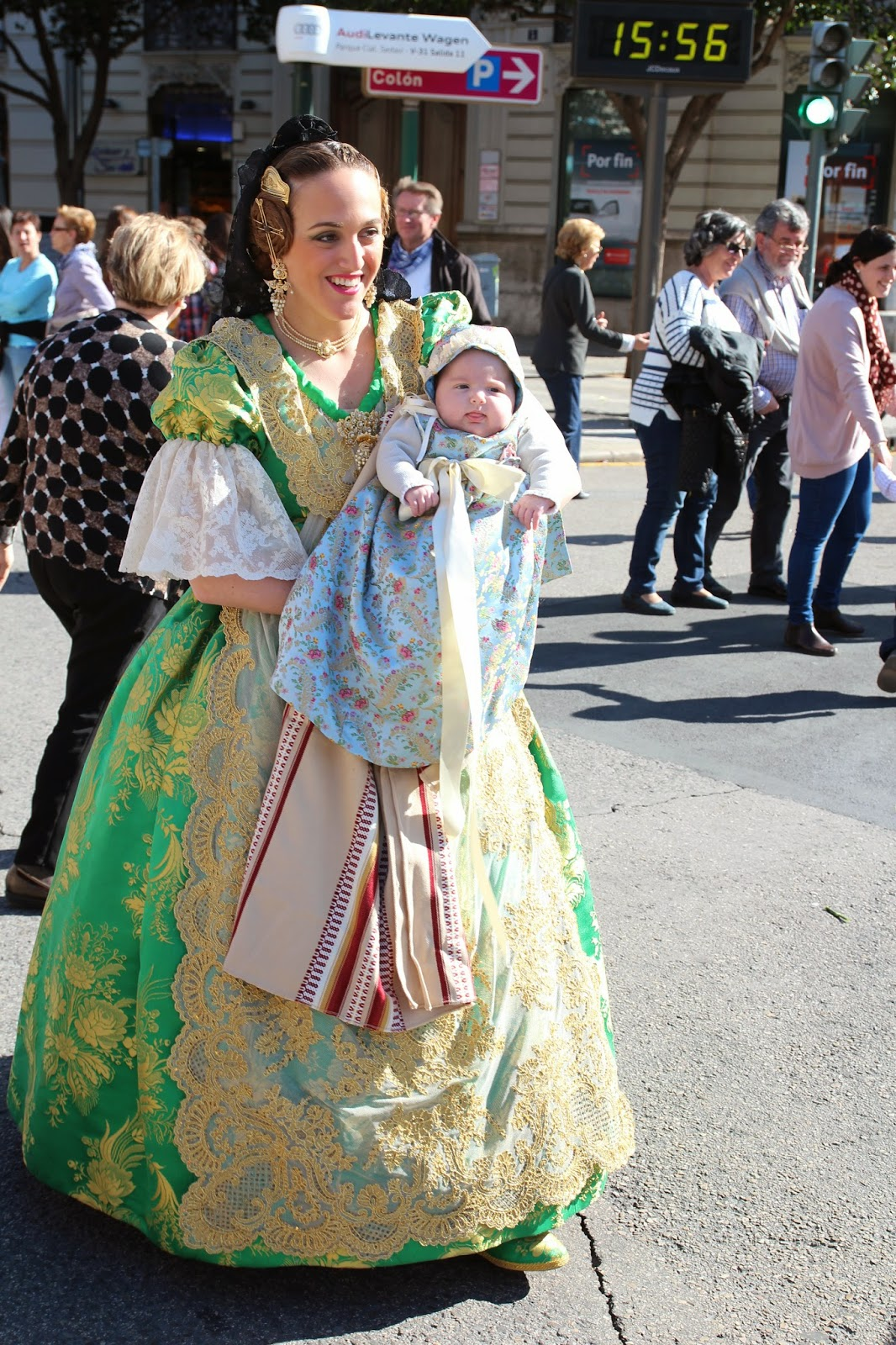 Viviendo en España: Stierkampf, Las Fallas, Freundin, Prüfungen