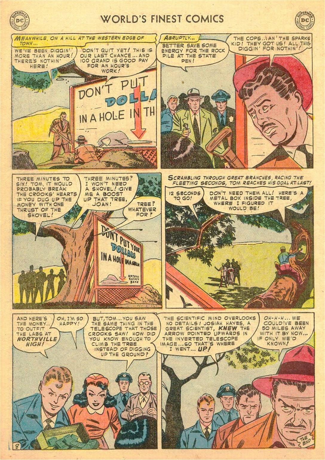 Read online World's Finest Comics comic -  Issue #58 - 48