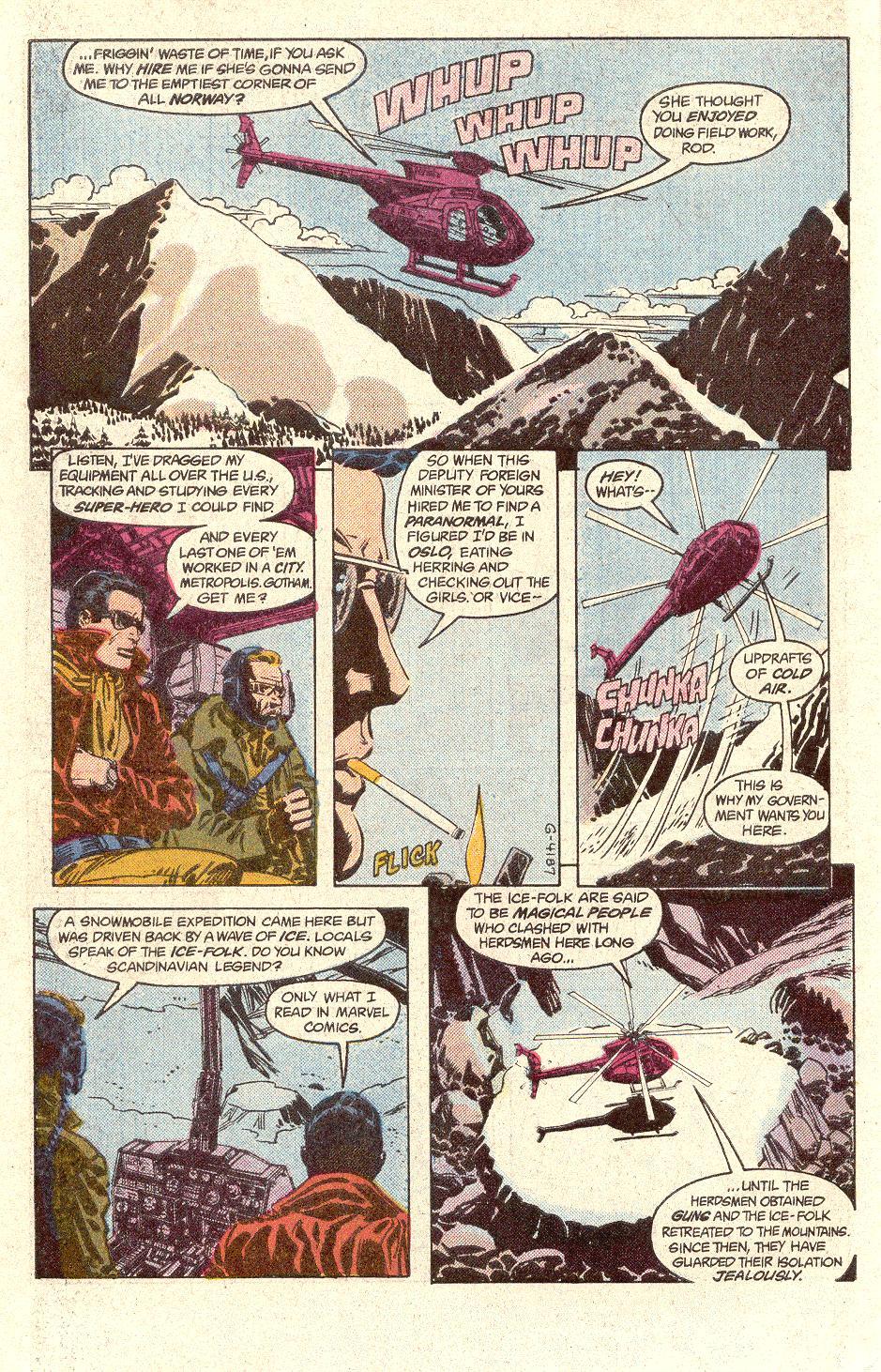 Read online Secret Origins (1986) comic -  Issue #33 - 31