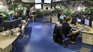Tata Ruang Kantor Berhias/Berpanorama (Landscape Offices)