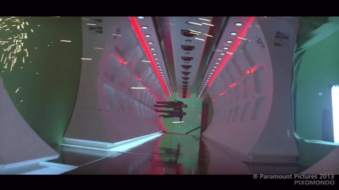 Enterprise D corridor at Star Trek the Tour | Flickr ... |Uss Enterprise Corridors