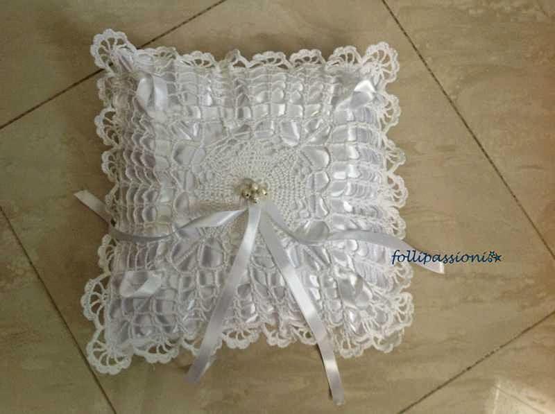Folli Passioni Porta Fedi A Crochet