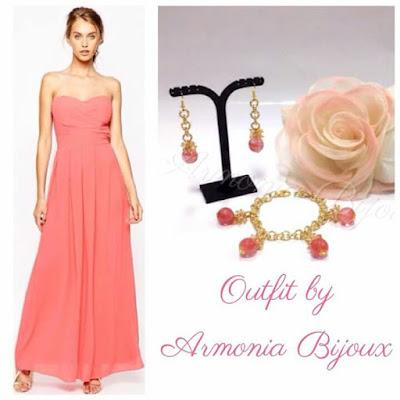 bijoux abito lungo matrimonio