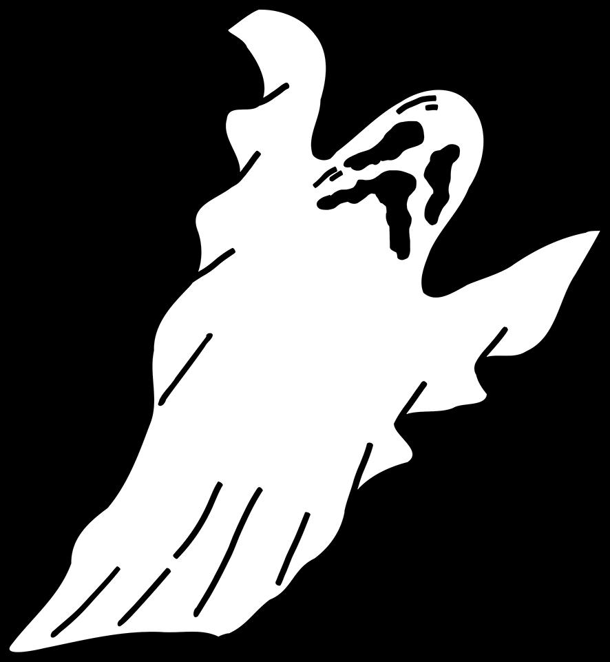 Bau Da Web Molde Fantasmas Para Imprimir E Decorar No Dia Das Bruxas